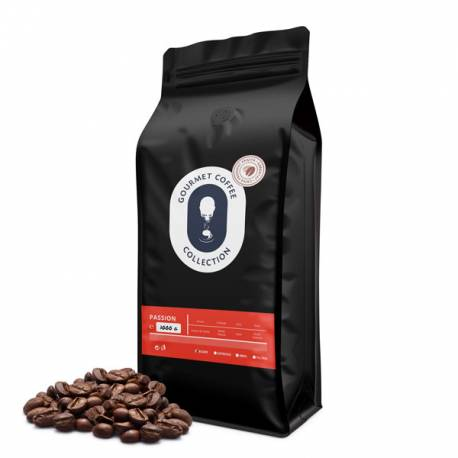 Passion Gourmet coffee boabe 1Kg