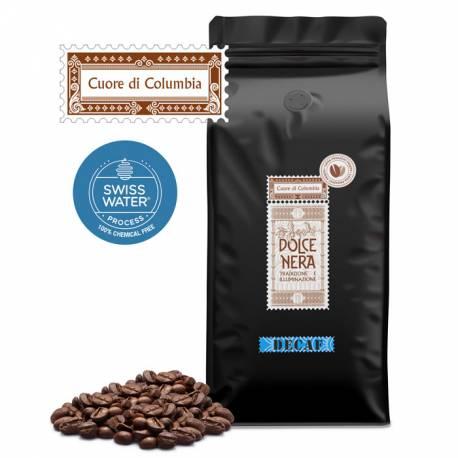 Cafea Decofeinizata Cuore di Columbia 1Kg