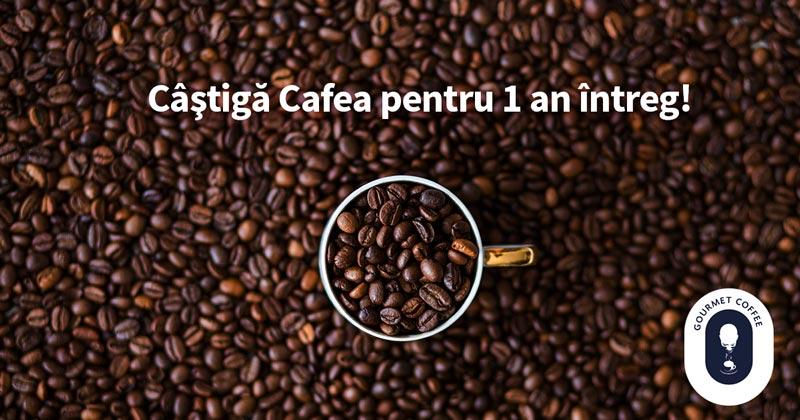 Concurs castiga cafea pentru 1 an